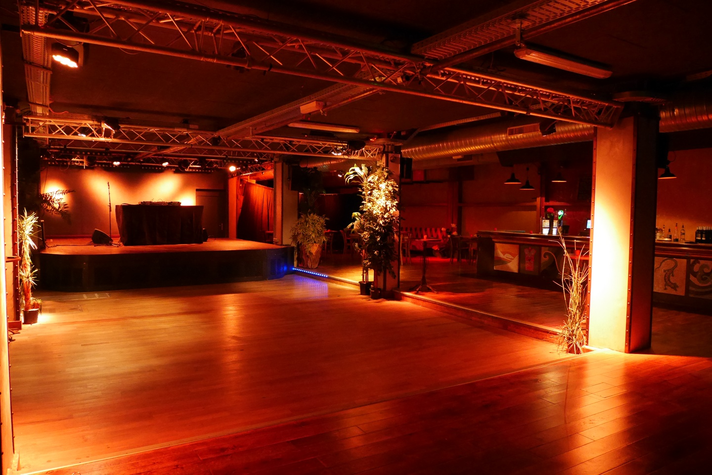 Paris corporate event venues Party room La Bellevilloise - Le Club image 0