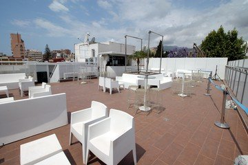 Malaga corporate event venues Dachterrasse Molly's Rooftop image 1