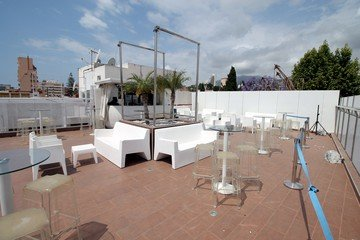 Malaga corporate event venues Dachterrasse Molly's Rooftop image 2