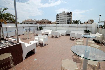 Malaga corporate event venues Dachterrasse Molly's Rooftop image 4