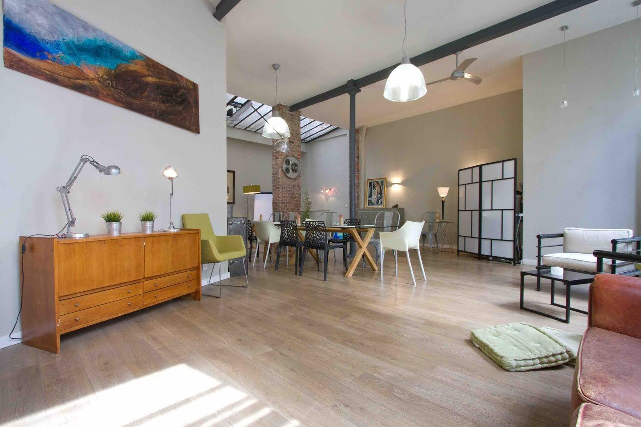 Paris workshop spaces Private residence THE FASHION LOFT - GRANDS BOULEVARDS image 1