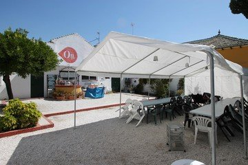 Malaga corporate event venues Courtyard DobleMitad - Patio image 1