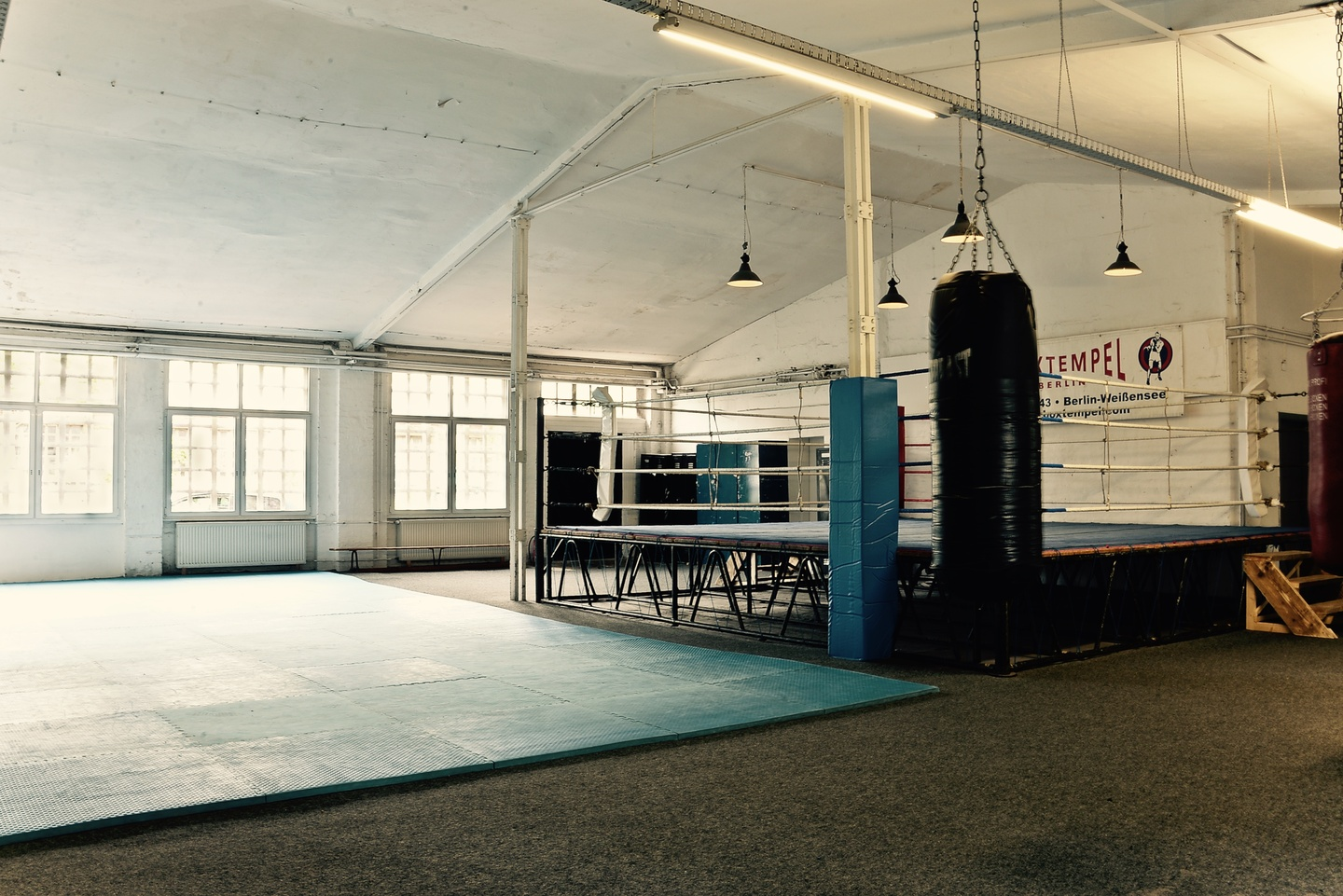 Berlin workshop spaces Besonders Boxtempel Berlin - Kampf-Arena image 1