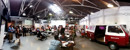 Madrid corporate event venues Coworking Space garAJE - Central Space image 6
