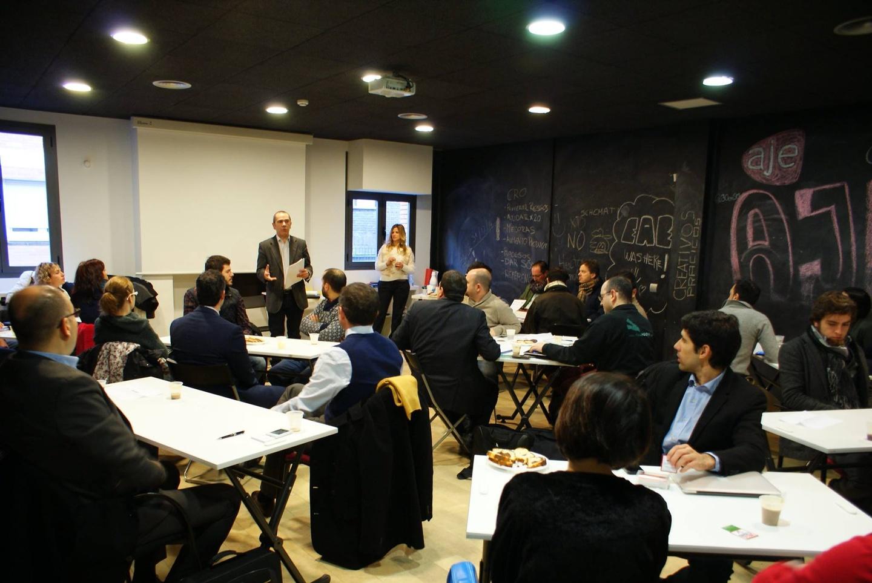 Madrid workshop spaces Meetingraum garAJE - Meeting Room image 0