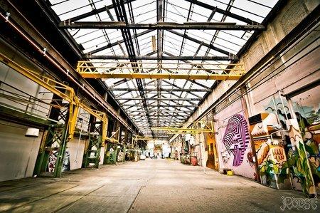 Amsterdam workshop spaces Industrial space Amsterdam Roest image 9