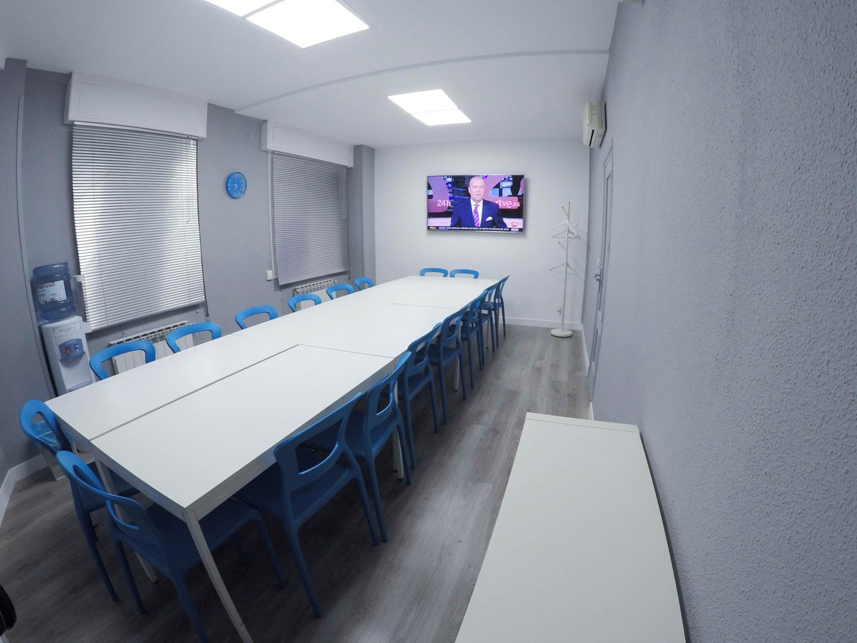 Madrid training rooms Salle de réunion N&N Networking Center - Sala Azul image 1