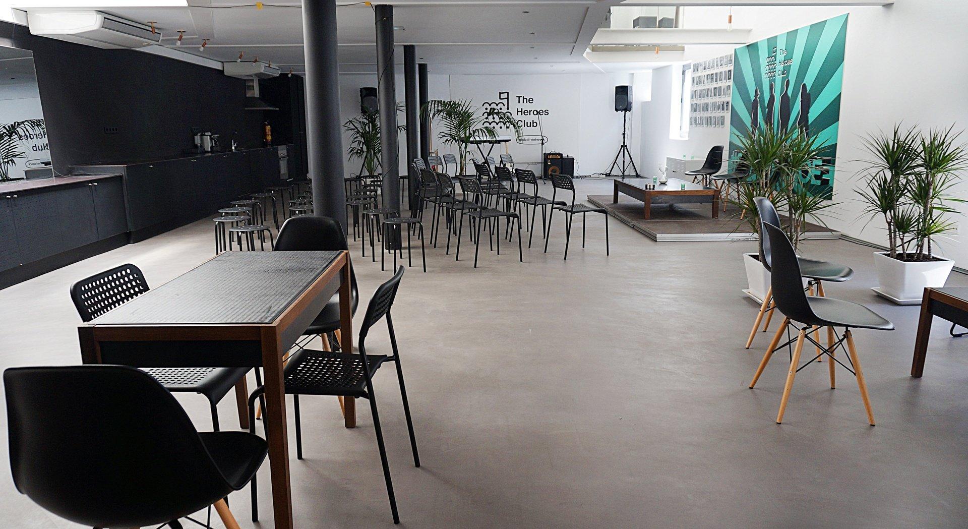 Madrid workshop spaces Club The Heroes Club image 0