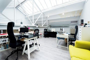 Madrid workshop spaces Industriegebäude Lekanto image 2