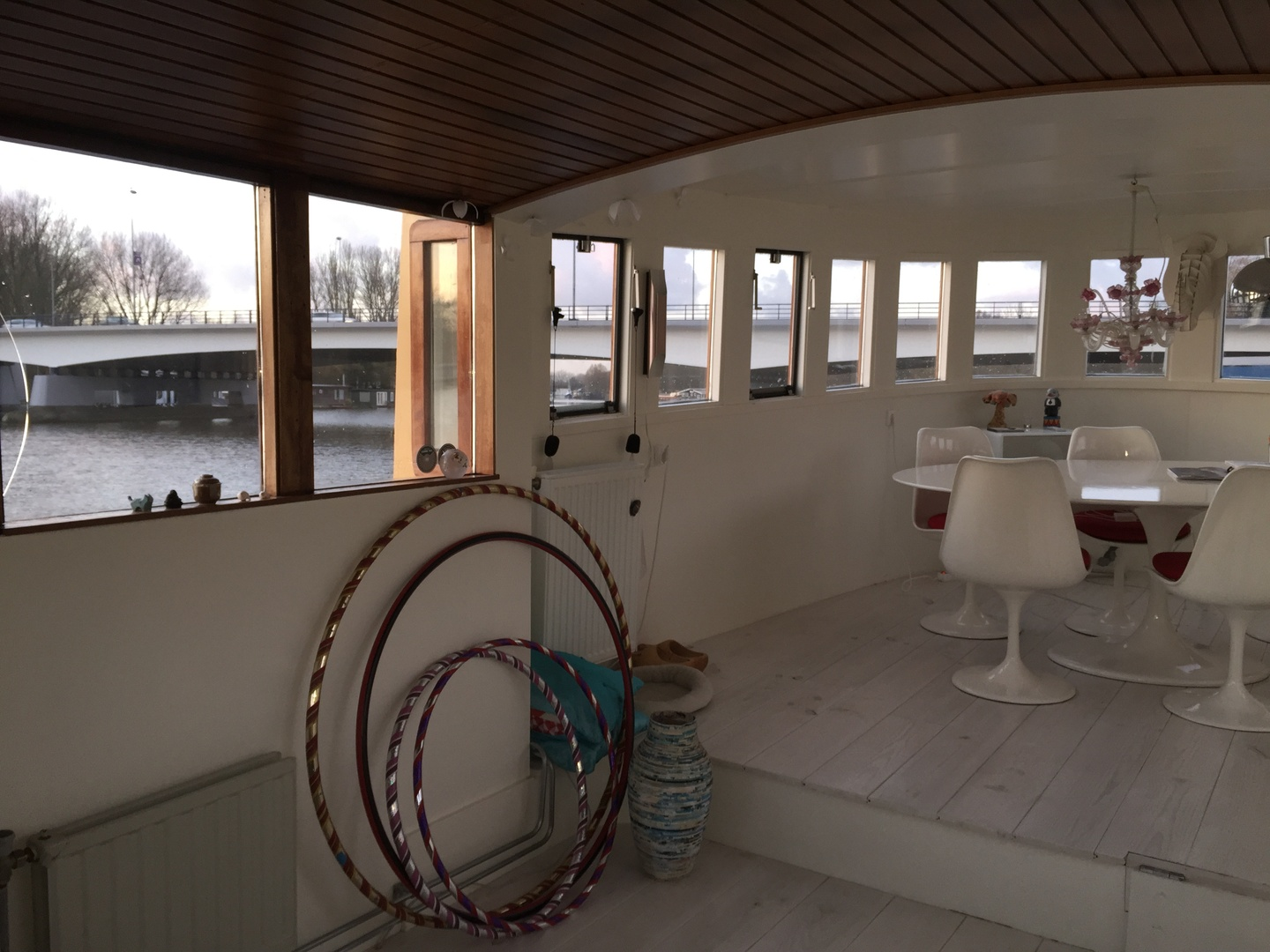 Amsterdam conference rooms Boat Houseboat Amsterdam Amstel image 11