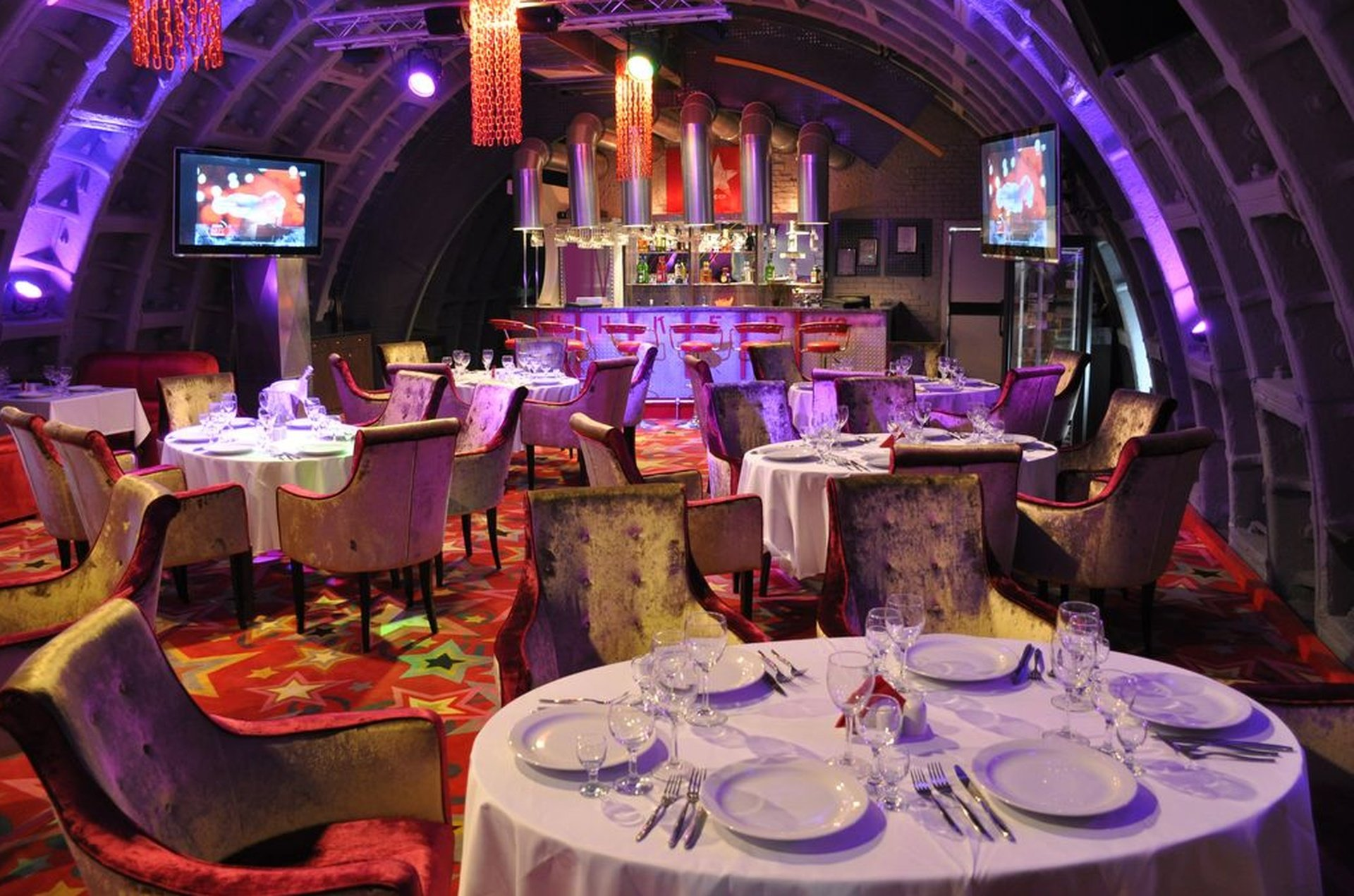 Rest of the World corporate event venues Auditorium Tagansky Bunker 42 - Red Banquet Hall image 0