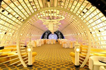Rest of the World corporate event venues Historic venue Tagansky Bunker 42 - White Banquet Hall image 2