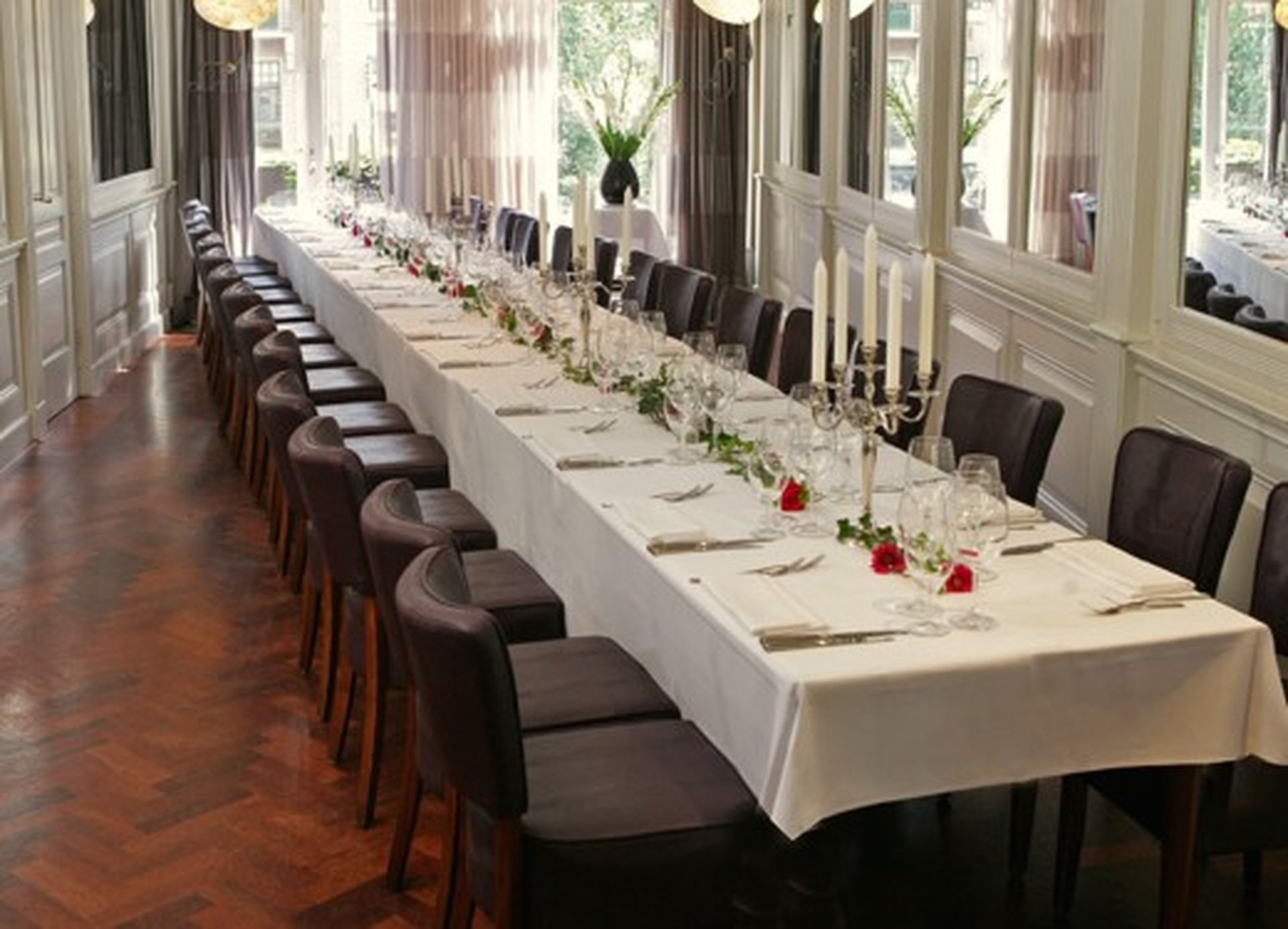 Amsterdam corporate event venues Restaurant Brasserie van Baerle image 0