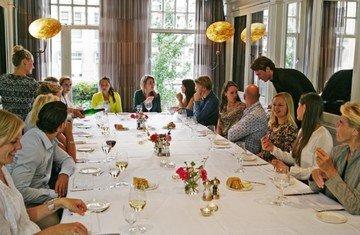 Amsterdam corporate event venues Restaurant Brasserie van Baerle image 11