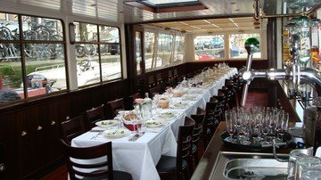 Amsterdam corporate event venues Bateau 't Smidtje - The Vondel image 0