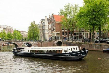 Amsterdam corporate event venues Boat 't Smidtje - Wilhelmus image 0