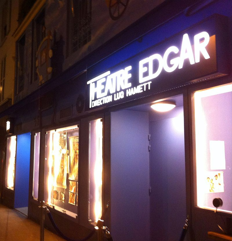 Paris corporate event venues Besonders Théâtre Edgar image 2