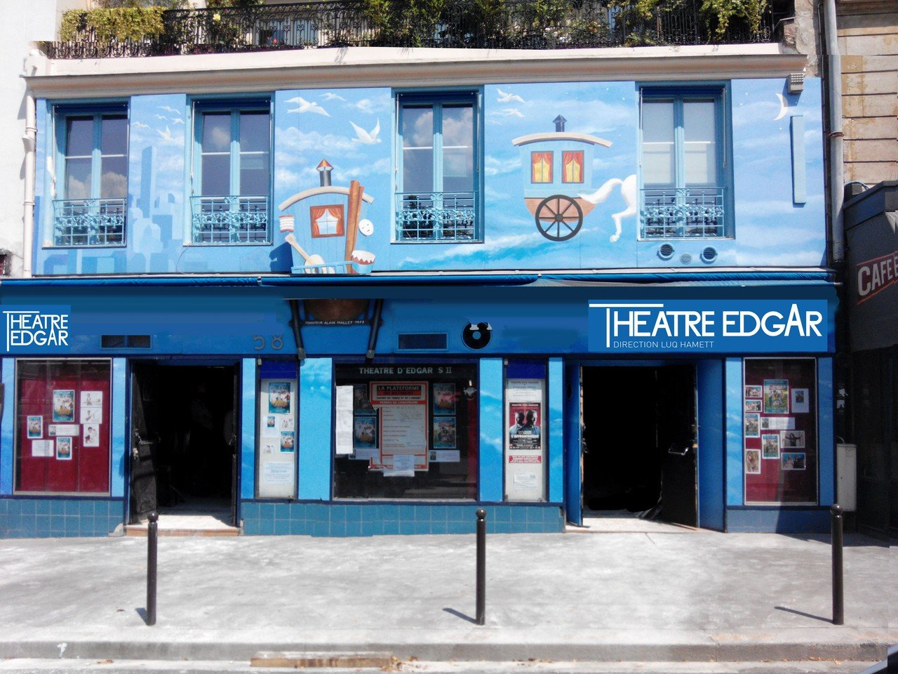Paris corporate event venues Lieu Atypique Théâtre Edgar image 0