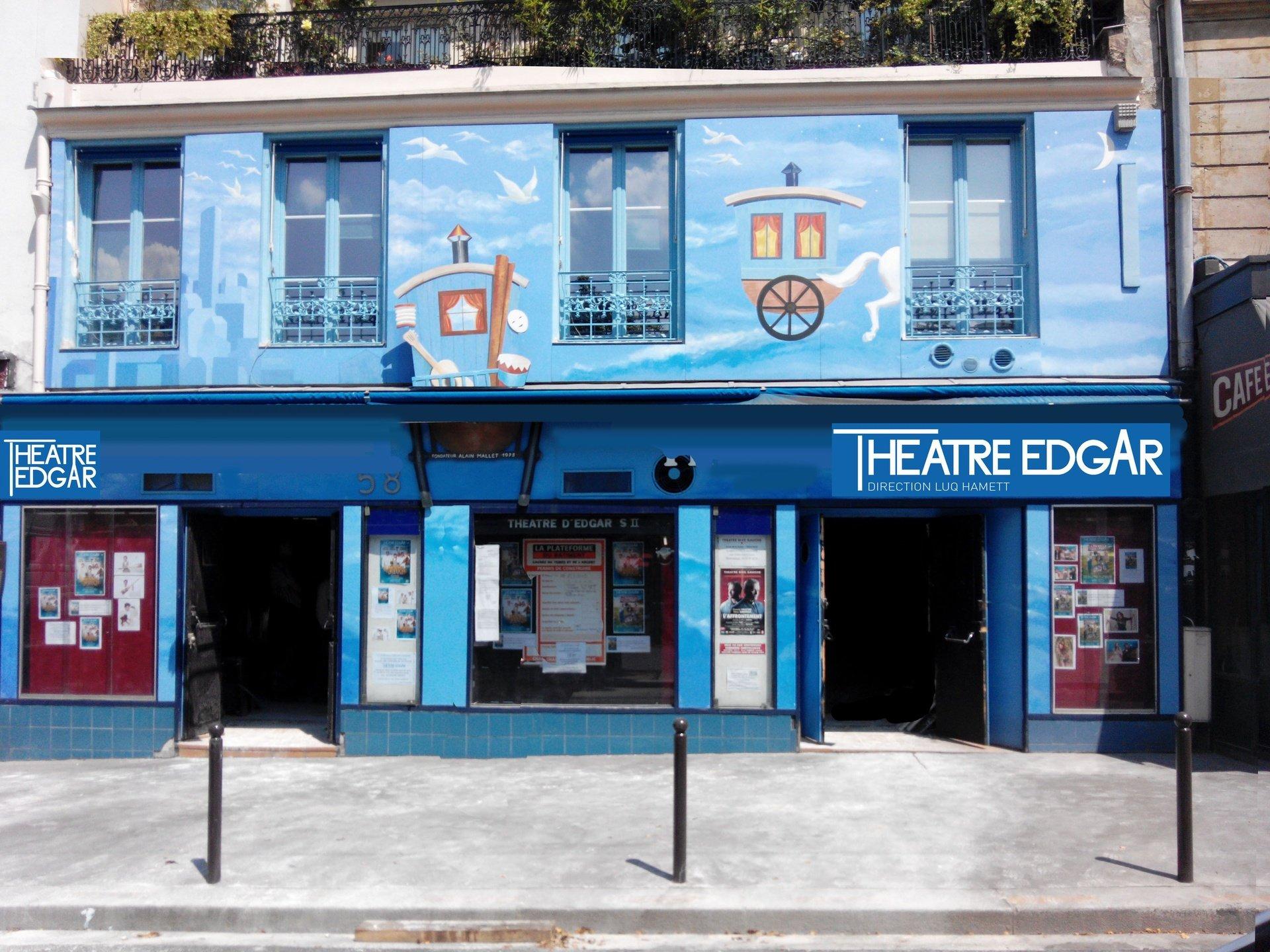 Paris corporate event venues Besonders Théâtre Edgar image 0