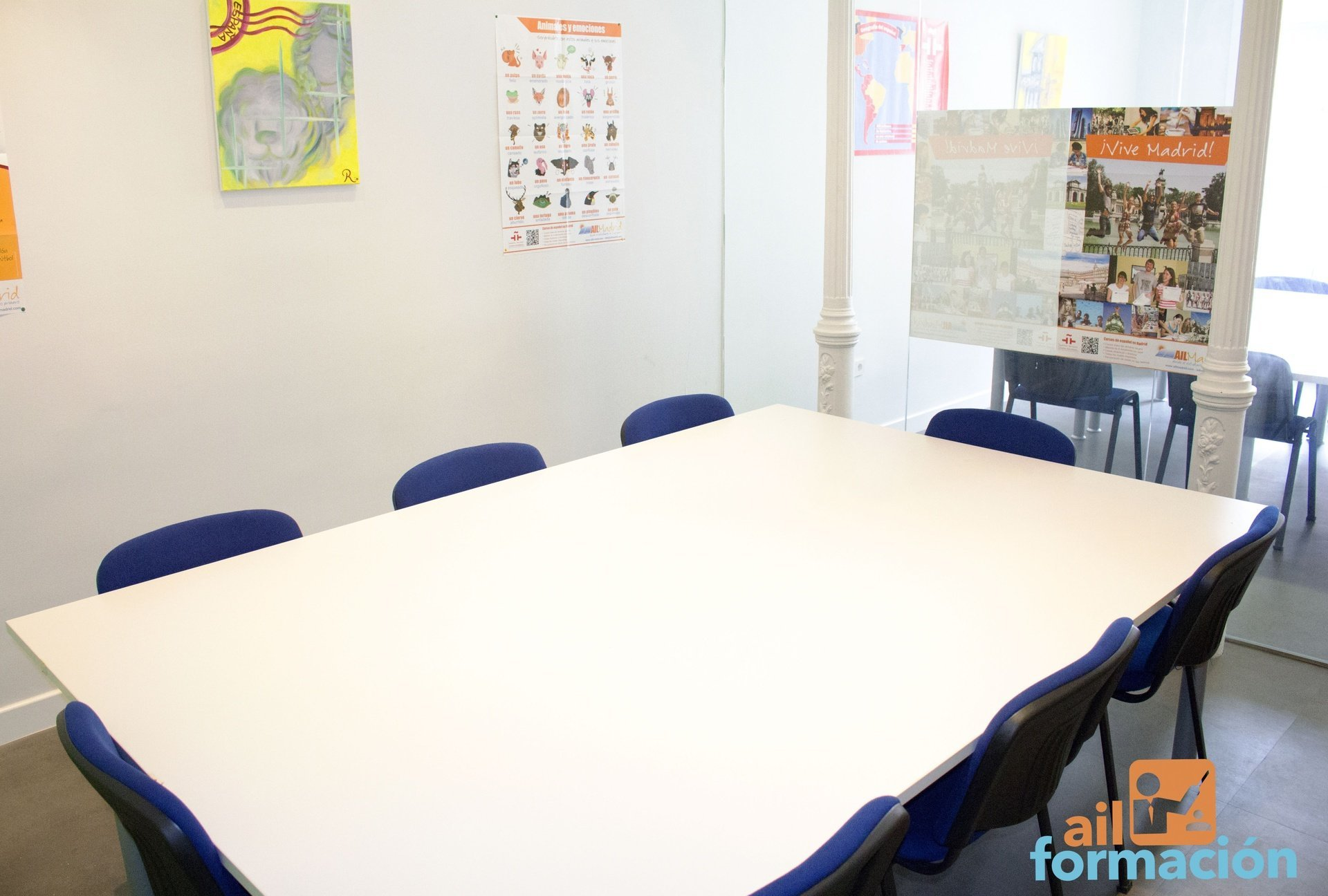 Madrid training rooms Meeting room AIL Formación - Cibeles image 0