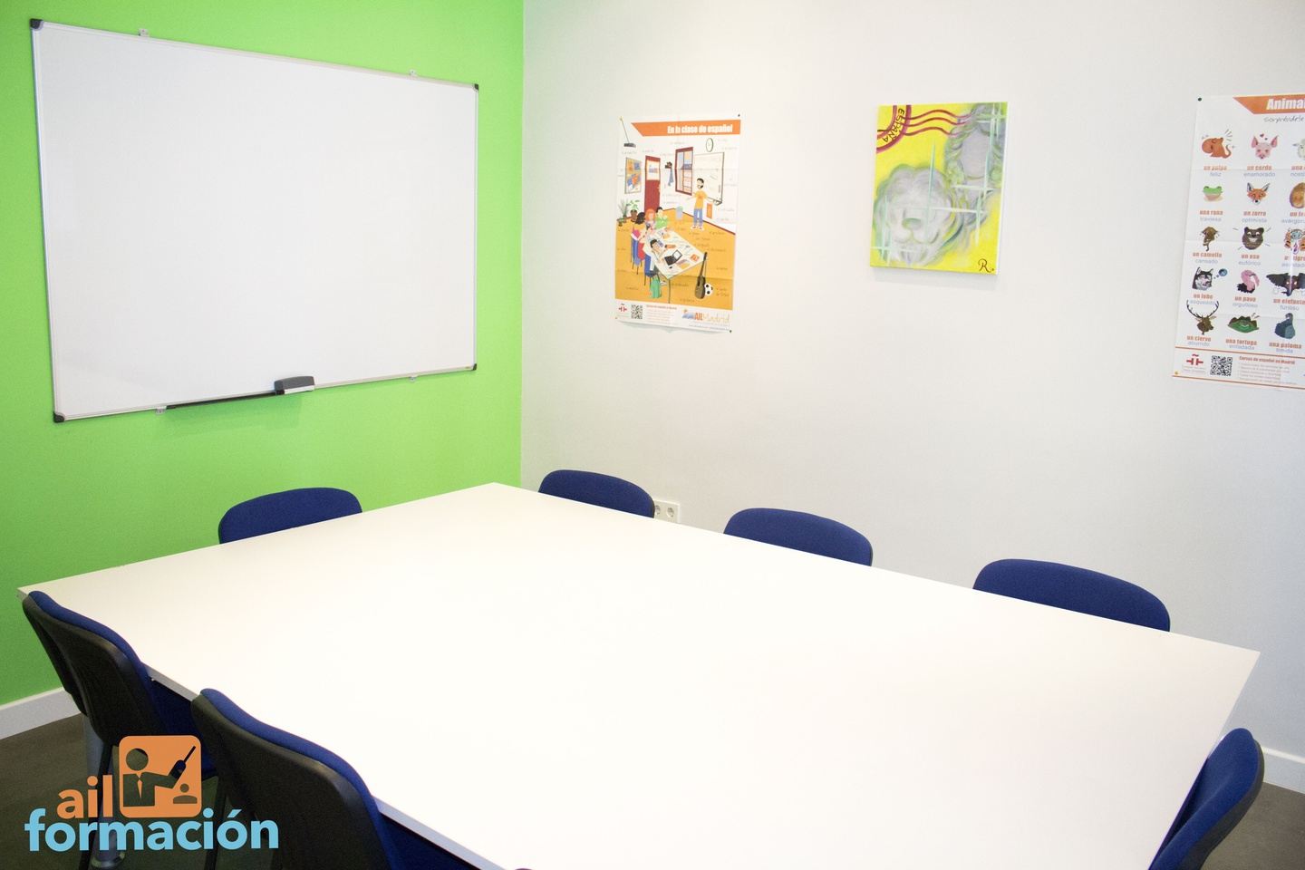 Madrid training rooms Meeting room AIL Formación - Cibeles image 1