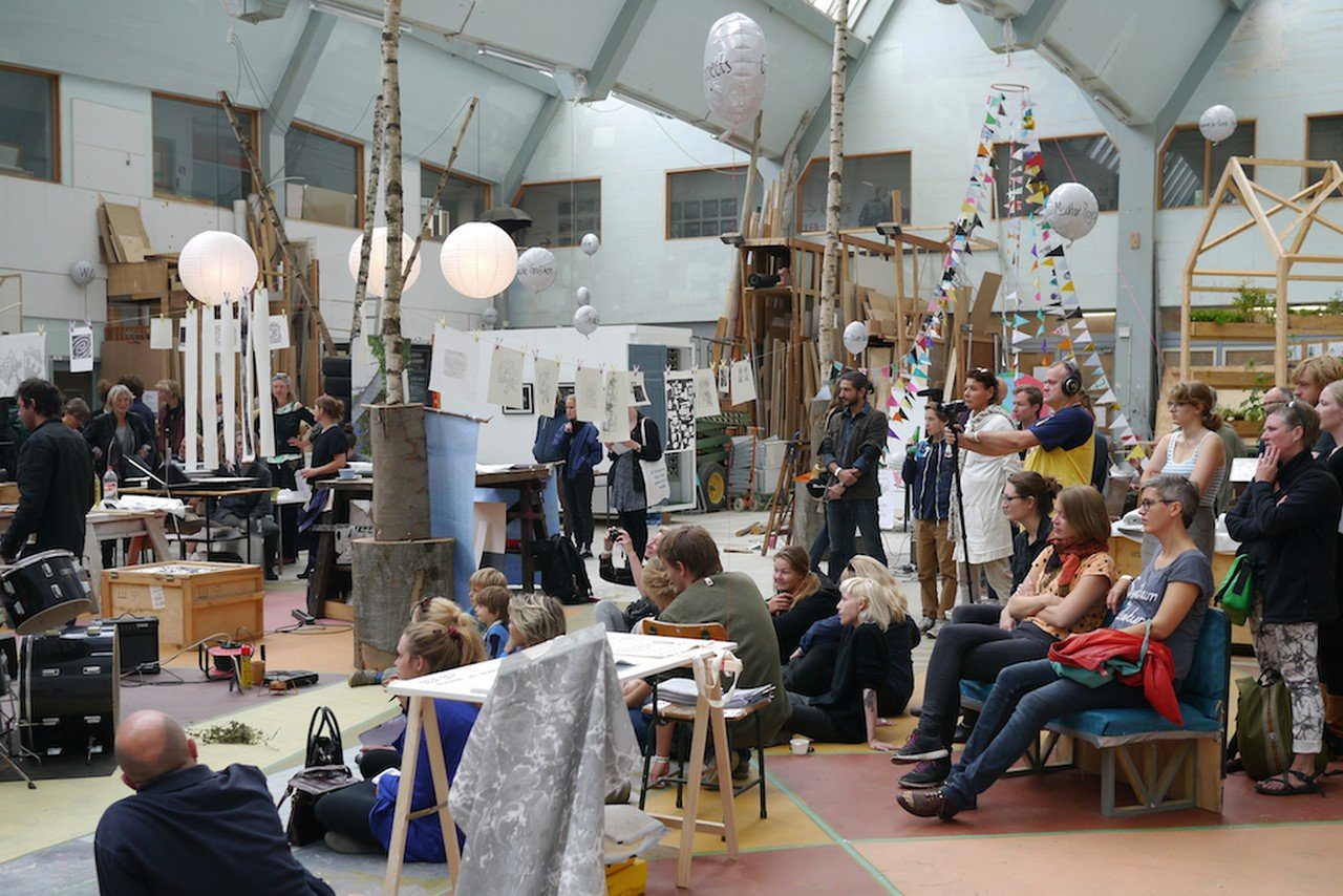Copenhagen workshop spaces Industrial space The Factory of Art & Design image 0