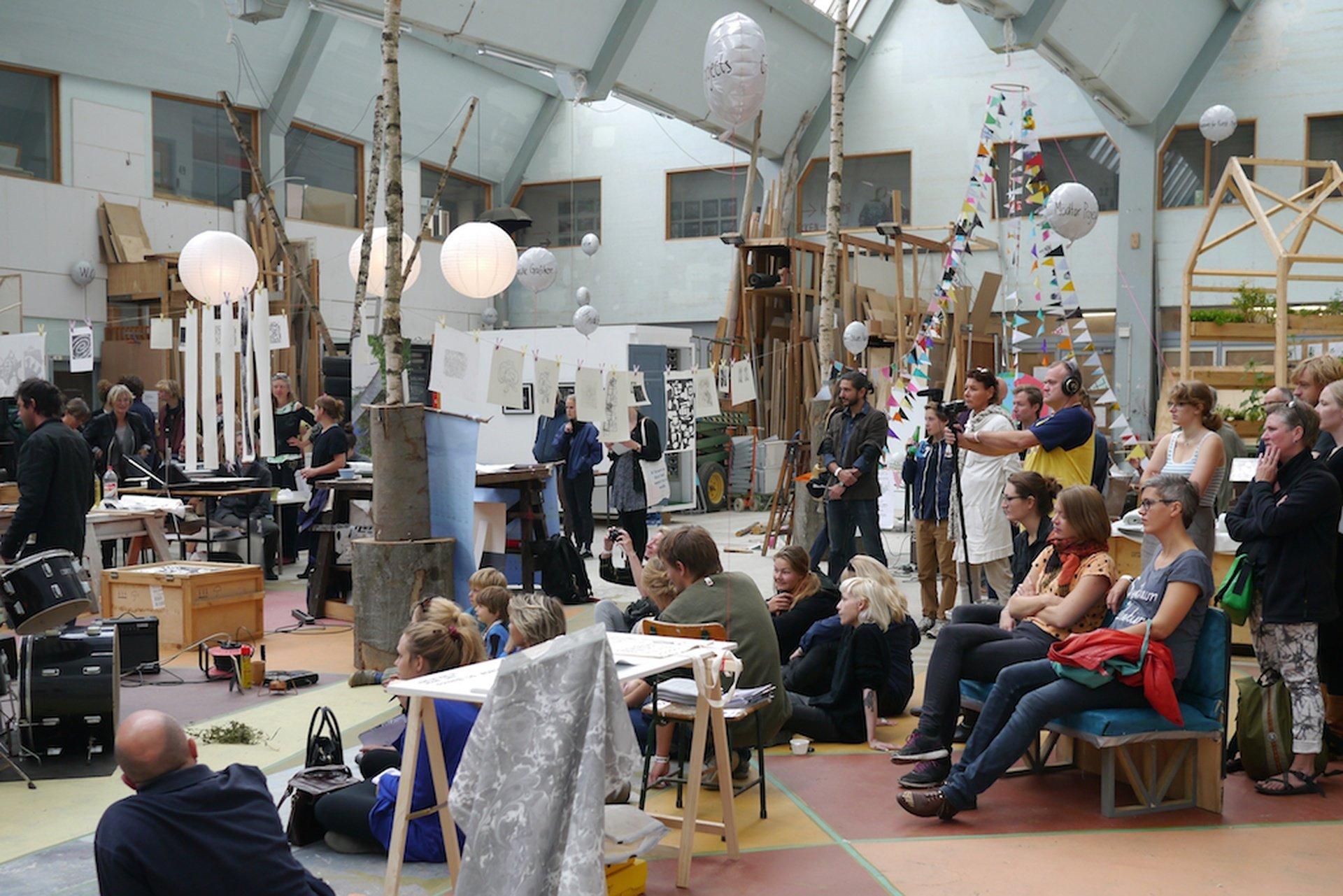 Kopenhagen workshop spaces Industriegebäude The Factory of Art & Design image 0