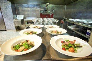 Barcelona corporate event venues Meetingraum Mas Corts - Cocina profesional image 4