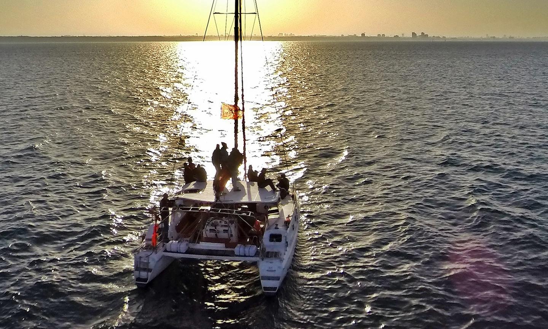 Tel Aviv corporate event venues Boat Sea Gal - Private Catamaran image 0