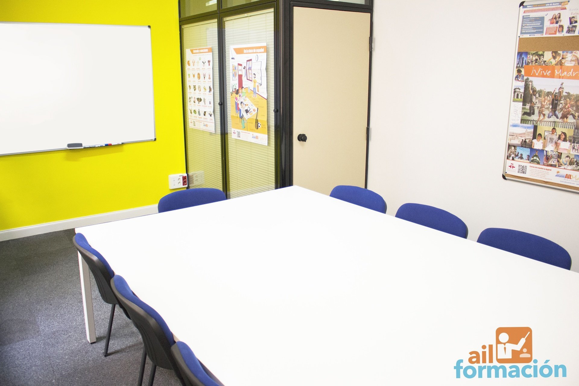 Madrid training rooms Meeting room AIL Formación - Castellana image 0