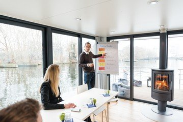 Berlin seminar rooms Boat The Floating Office image 8