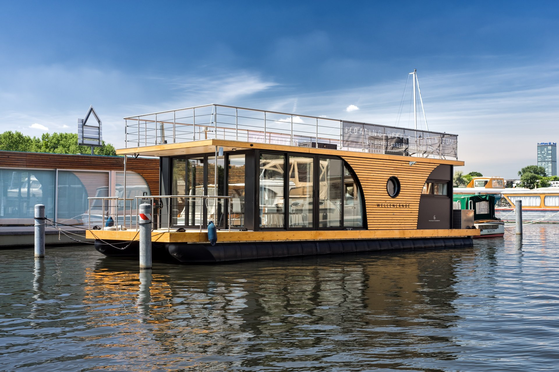 Berlin seminar rooms Bateau The Floating Office image 0