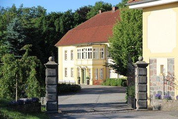 Berlin training rooms Patio / Cour extérieure Gutshof Wilsickow image 3