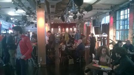Berlin corporate event venues Party room Kalkscheune - Der Saal image 6