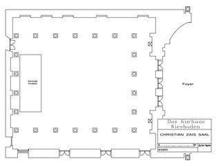 Francfort corporate event venues Lieu historique Kurhaus - Christian-Zais-Saal image 8