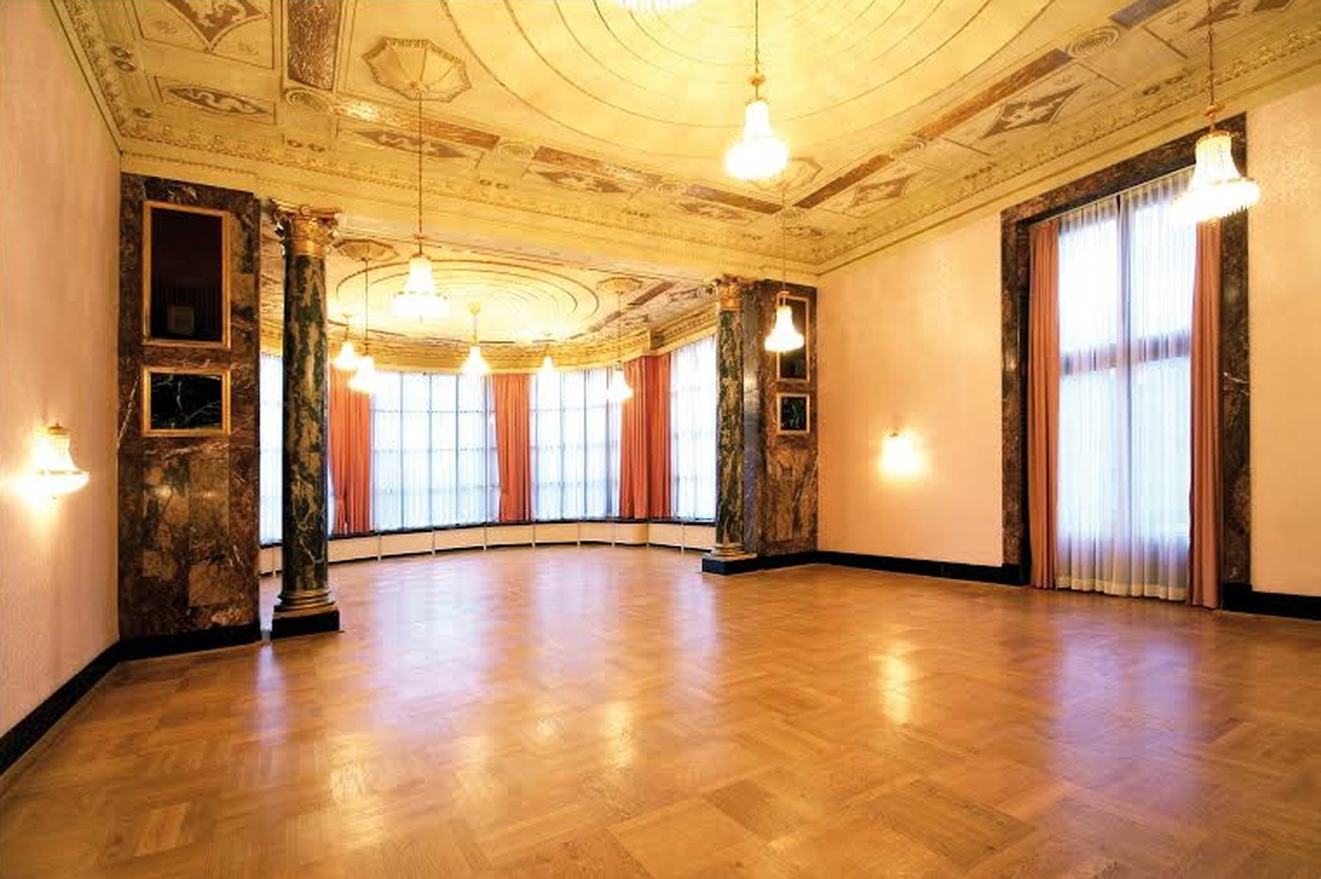 Frankfurt corporate event venues Historic venue Kurhaus - Salon Carl Schuricht image 0