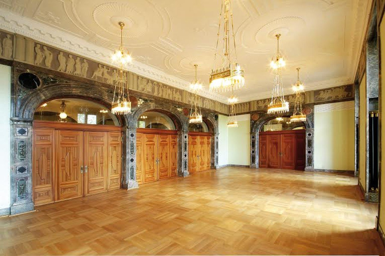 Frankfurt corporate event venues Historic venue Kurhaus - Carl-von-Ibell-Zimmer image 0