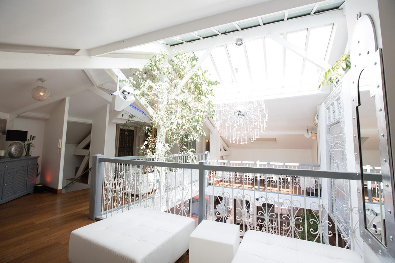 Paris corporate event venues Salle de réception LE LOFT, espace de 100, 200 ou 300 m2 avec 8 m de hauteur sous verrière  image 1