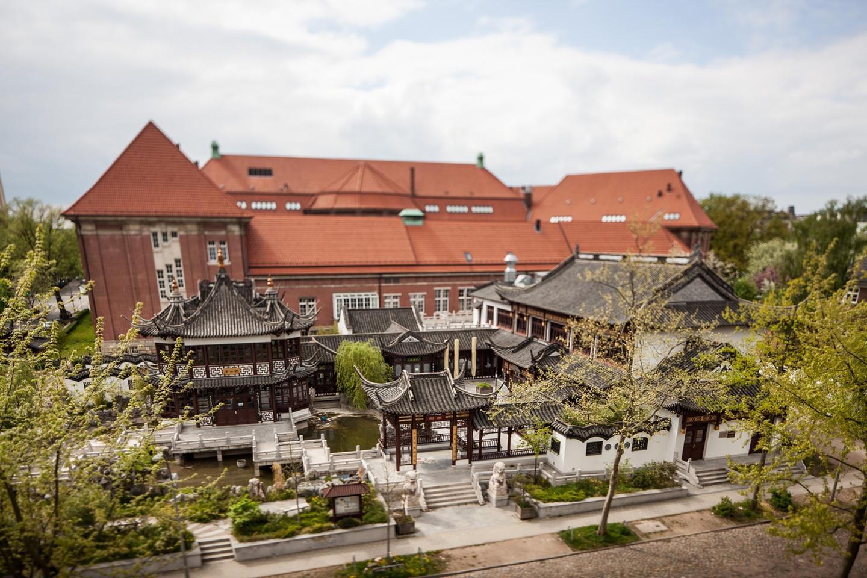 Hamburg workshop spaces Lieu historique Yu Garden - Raum Elbe image 2