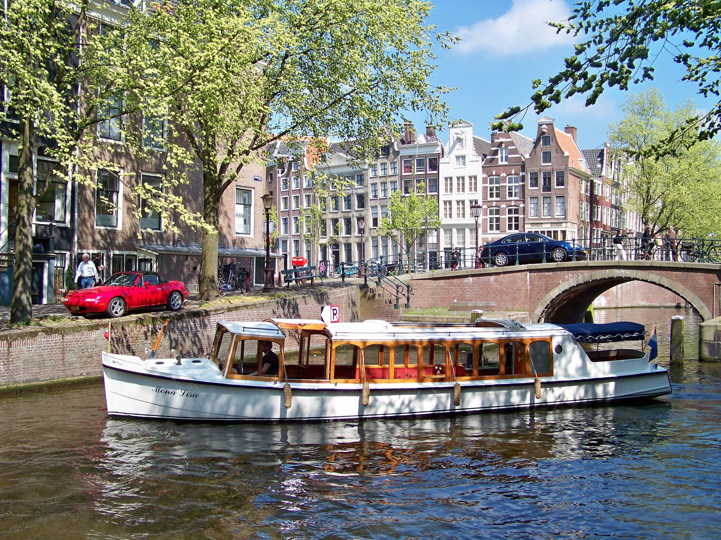 Amsterdam corporate event venues Bateau 't Smidtje - Fairboat Mona Lisa image 0