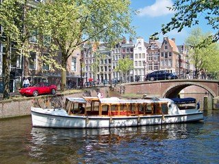 Amsterdam corporate event venues Boot 't Smidtje - Fairboat Mona Lisa image 0