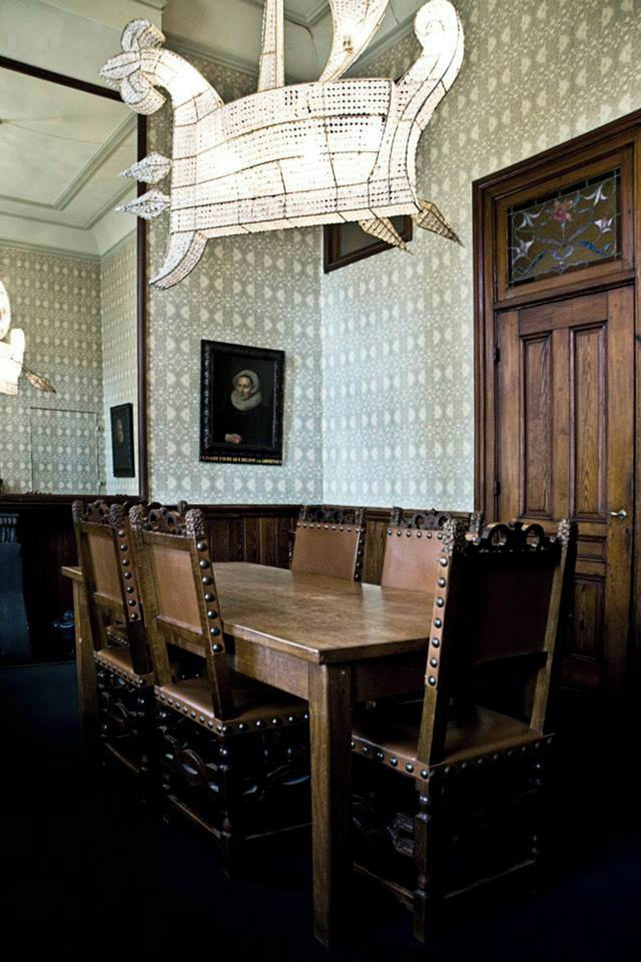 Rotterdam Train station meeting rooms Historic venue Arminius - Commissiekamer image 1