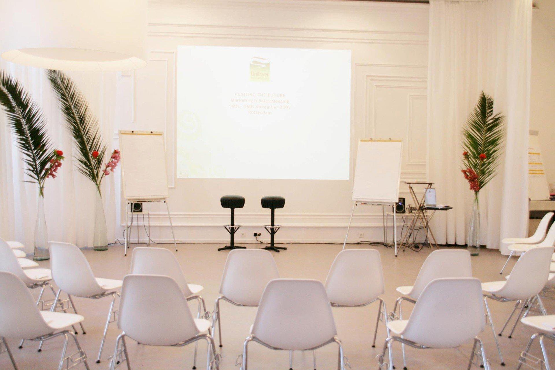 Rotterdam training rooms Historic venue Arminius - Bovenzaal image 2