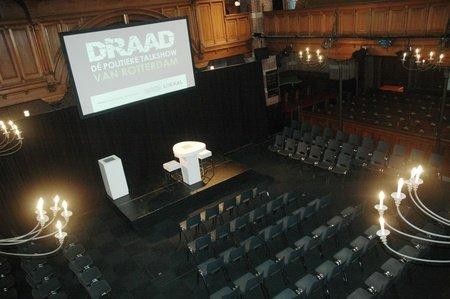 Rotterdam corporate event venues Historische Gebäude Arminius - Grote Zaal image 1