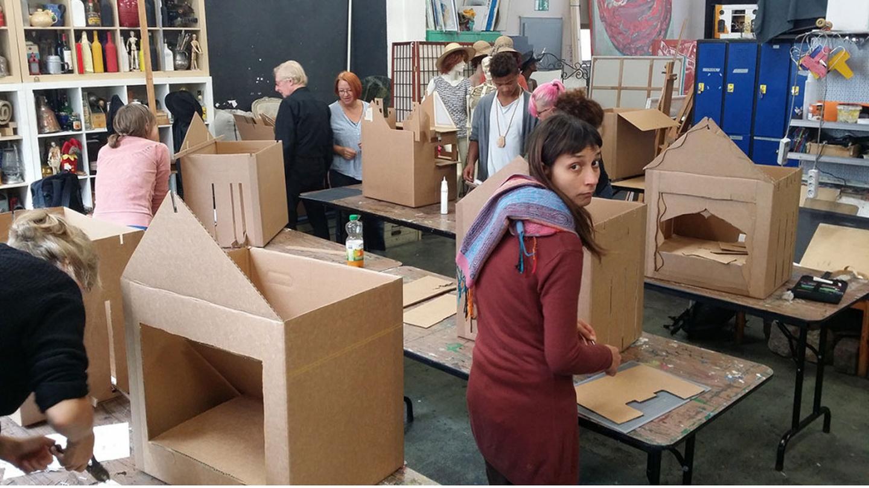 Berlin workshop spaces Besonders Art School Berlin image 2