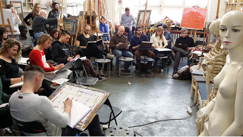 Berlin workshop spaces Besonders Art School Berlin image 3