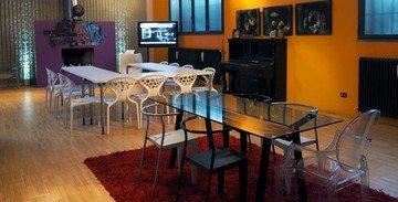 Rest der Welt training rooms Meetingraum 10 Watt Venue - Purple House image 1