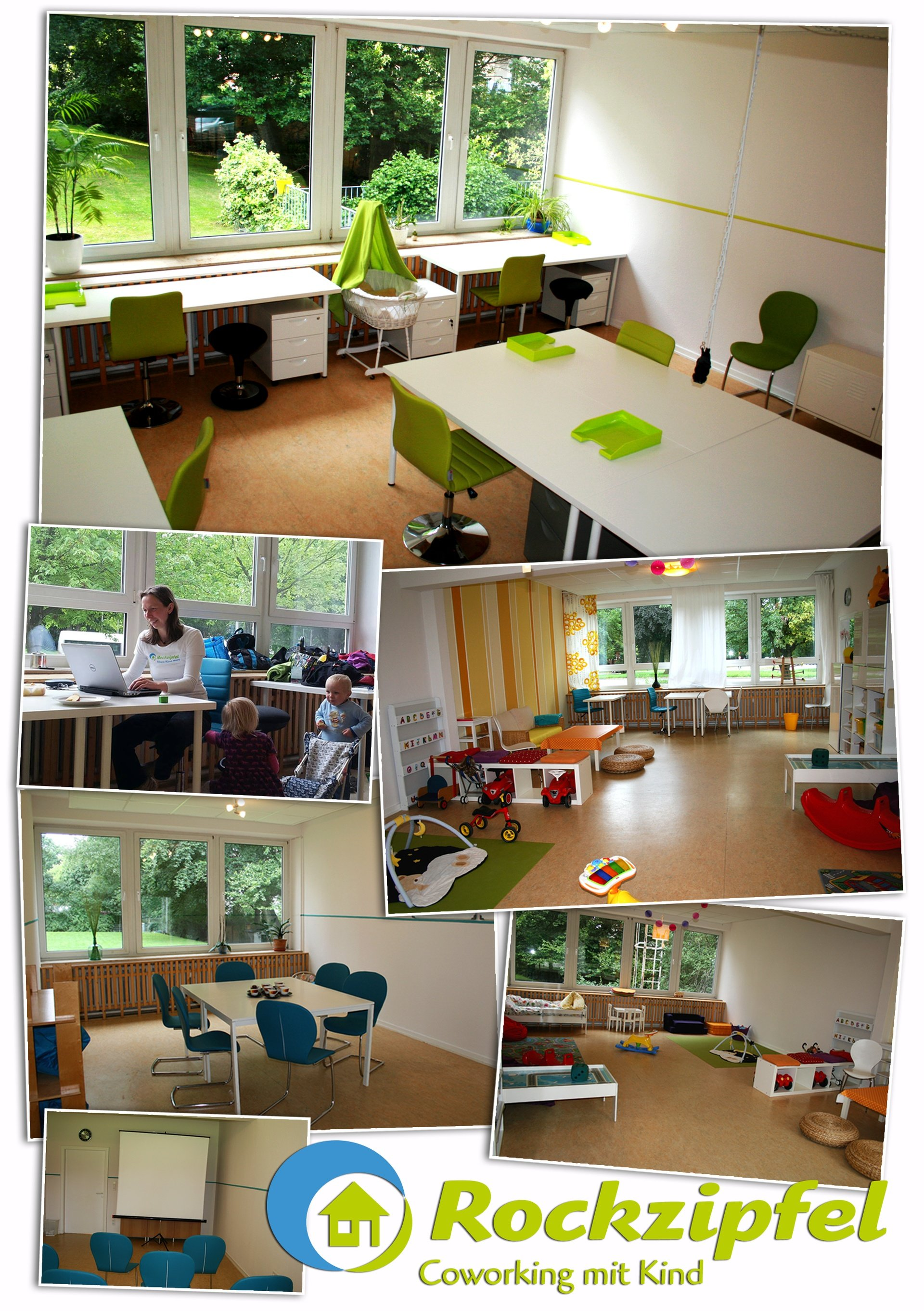 Hamburg training rooms Espace de Coworking Rockzipfel - Coworking with Kids @ Hub3 image 0