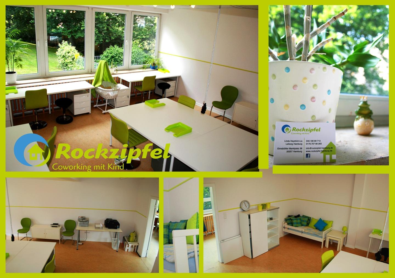 Hamburg training rooms Coworking Space Rockzipfel - Coworking with Kids @ Hub3 image 2