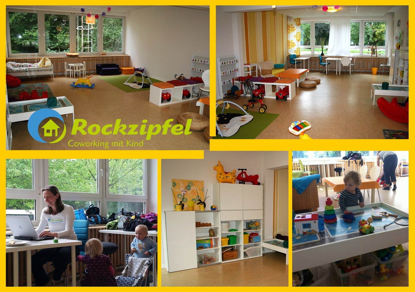Hamburg training rooms Espace de Coworking Rockzipfel - Coworking with Kids @ Hub3 image 1